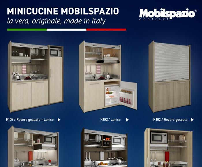 Cucina Salvaspazio Monoblocchi : Cucine monoblocco salvaspazio made in italy