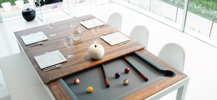 Tavolo Da Biliardo Richiudibile.Tavolo Da Pranzo O Da Biliardo 2 In 1 Fusiontables
