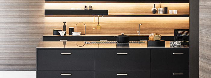 The kitchen is fickle: Unit by Cesar