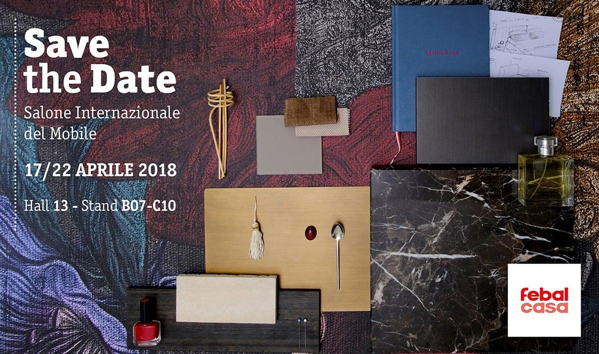 Febal Casa al Salone del Mobile 2018