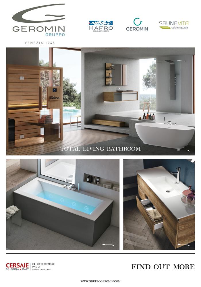 Total Living Bathroom Gruppo Geromin