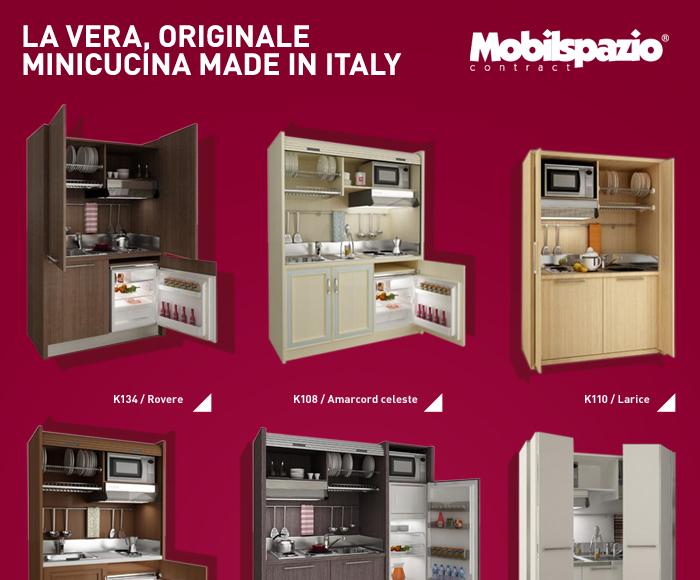 Cucina Salvaspazio Monoblocchi : Cucine salvaspazio monoblocco made in italy mobilspazio