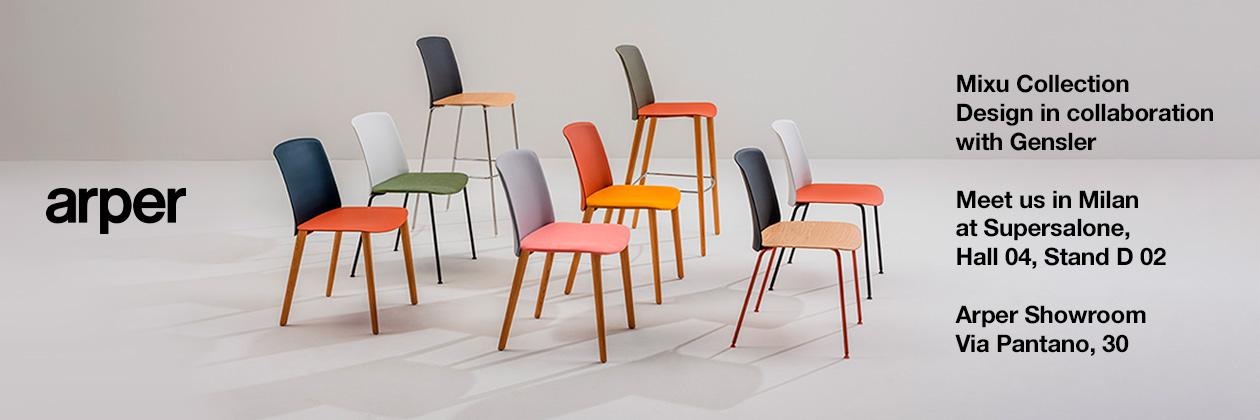 Arper @ Milano Design Week 2021