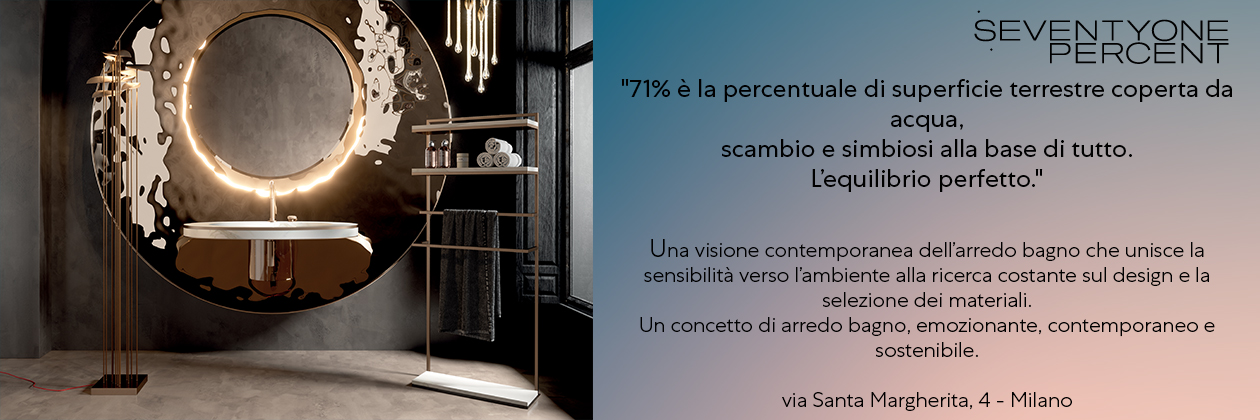 Seventyonepercent @ Milano Desing Week